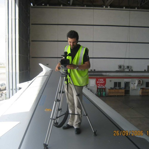 JP_Filming Airmalta's onboard safety video